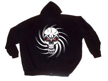 """Sudadera chaqueta con capucha """"Skull"""""""