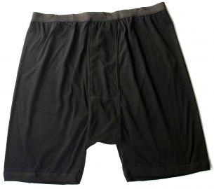 Calzoncillos boxer negro algodón/licra