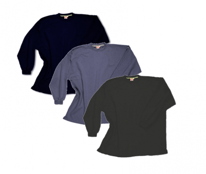 Sudadera tipo camiseta SIN puños Multipack