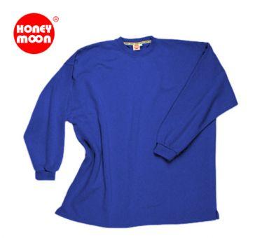 Sudadera tipo camiseta SIN puños blu-royal 3XL