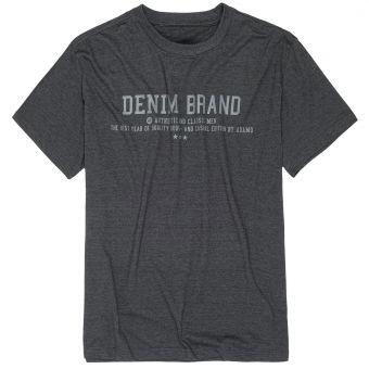 """ADAMO T-Shirt """"Simon"""" in anthracite mottled"""