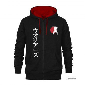 """Sudadera chaqueta con capucha """"Samurai"""""""