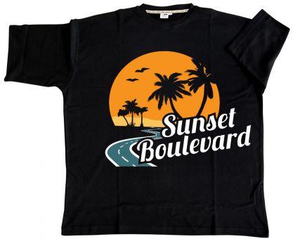 """T-Shirt """"Sunset Boulevard"""" 15XL"""