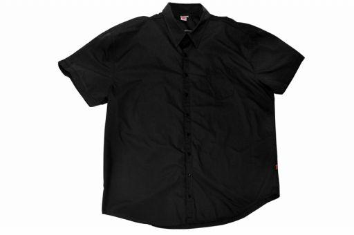 Camisa de algodón negro