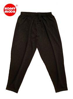 Pantalones de deporte negro 4XL