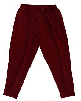 Pantalones de deporte rojo oscuro