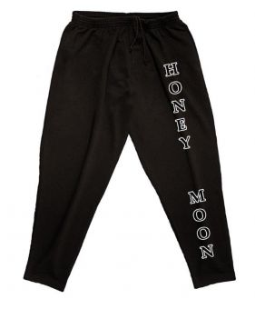 Pantalones de deporte negro