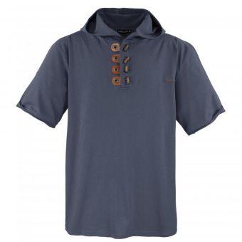 Lavecchia camiseta con capucha en  gris oscuro