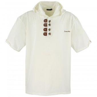 Lavecchia camiseta con capucha en Blanco-crema