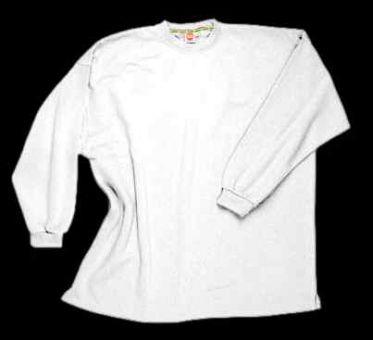Sudadera tipo camiseta SIN puños blanco