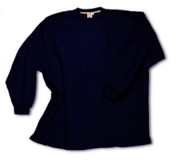 Sudadera tipo camiseta SIN puños blu-navy