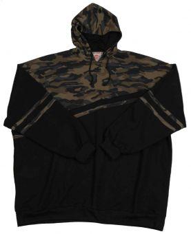 Sudadera con capucha camuflaje