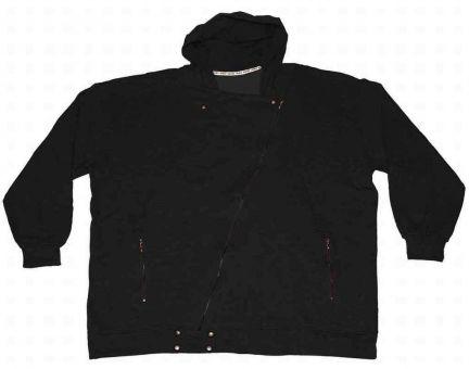 Sudadera chaqueta con capucha Biker