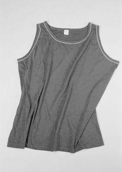 Camiseta sin mangas gris