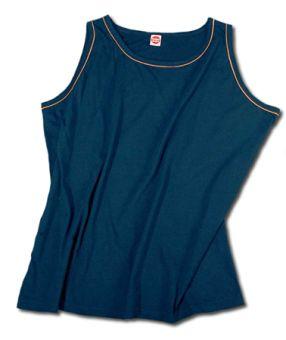 Camiseta sin mangas blu-navy