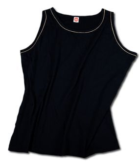 Camiseta sin mangas negro