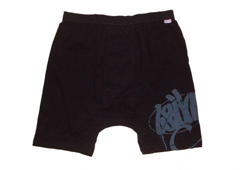 Calzoncillos boxer con estampado negro