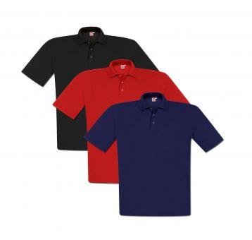 camiseta polo paquete tripla