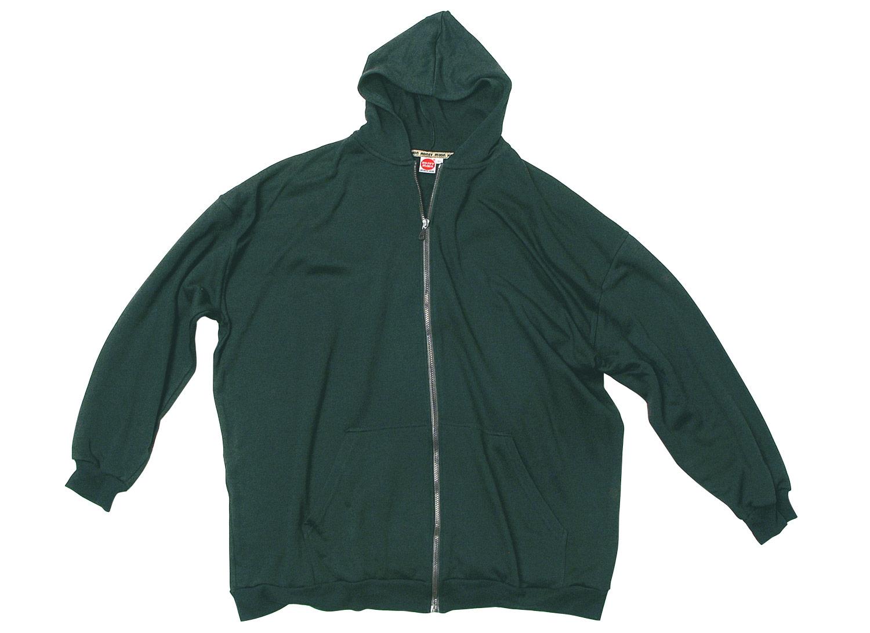 e5e8c06746c1e Sudadera chaqueta con capucha verde oscuro